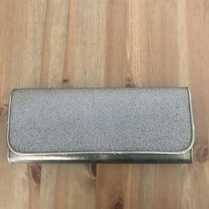 Golden cocktail party clutch